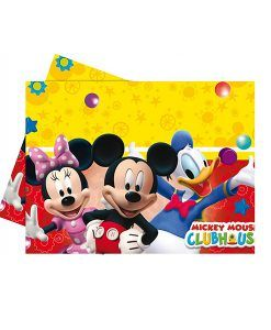 Doğum günü parti süslemeleri için Mickey MouseTemalı Masa Örtüsü ürünümüzü online olarak uygun fiyatlar ile satın alabilirsiniz