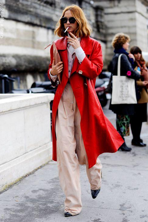 Candela Novembre Paris Fashion Week, Autumn Winter Ready to Wear Season, 2016.