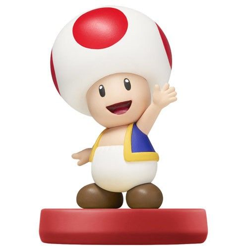 Experience an epic adventure with this Toad amiibo, which allows you to connect and interact with your favorite Nintendo games in a whole new way. Just tap your Wii U GamePad controller or Nintendo New 3DS XL with the amiibo to get started. Enjoy customizable gameplay features. Defeat even the hardest opponents by building your amiibo to level 50. Create a totally unique experience by storing data as you play. Are you ready to step into your favorite Nintendo worlds like never before?