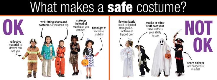 Image result for halloween costume safety