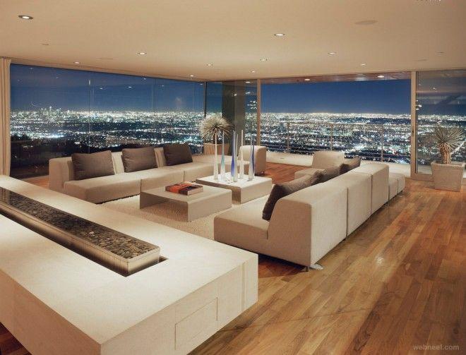 Luxury interior design living room  181 best Salones Modernos images on Pinterest | Architecture ...