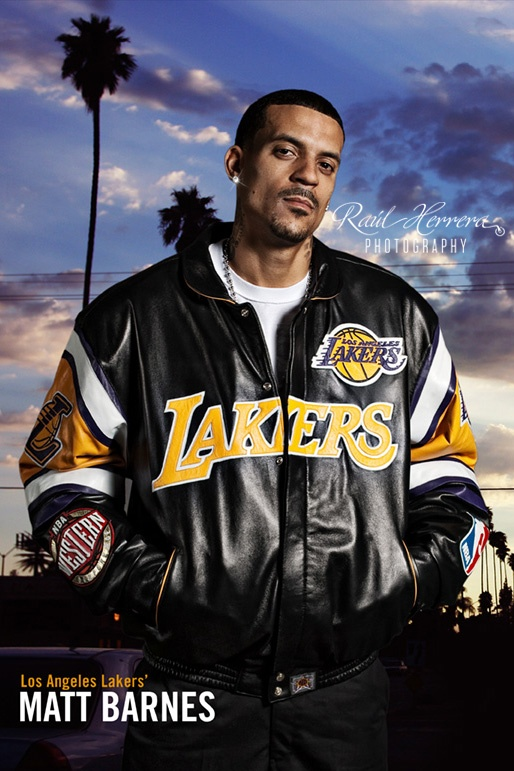 Matt Barnes [NBA Player] by Raul Herrera