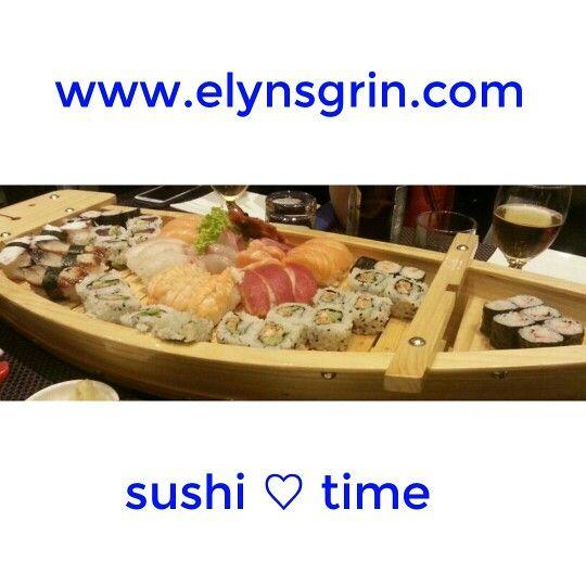 #sushi time! ♥