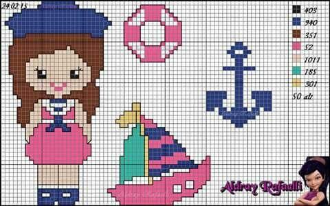 Menina marinheira
