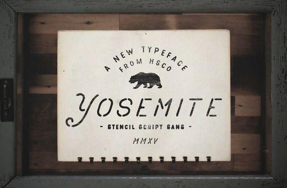 Yosemite by Hustle Supply Co. on Creative Market