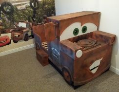 Tow mater bed