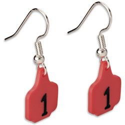 Cattle Tag Earrings ~ Jewelry & AccessoriesEven though my ears aren't pierced these would match perfectly with this year's steer