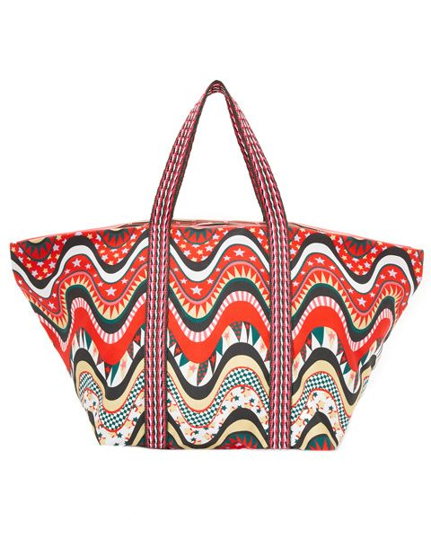 We Found Your Next Tote Bag for the Beach - M Missoni from InStyle.com