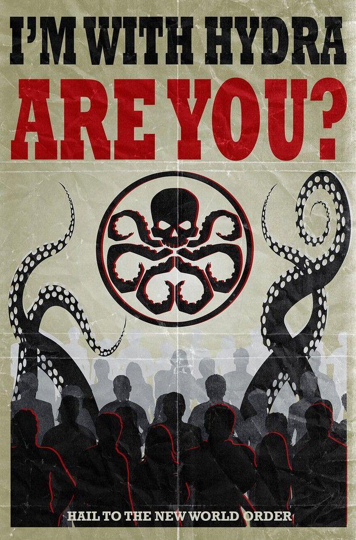 Agents of SHIELD Propaganda Posters Hint At Life Under HYDRA