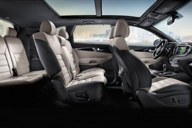 2016 Kia Sorento SX AWD interior side