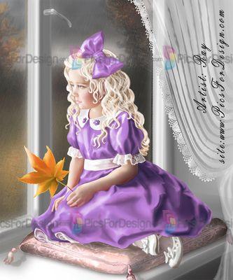 Олеся - Illustration store PicsForDesign.com. PSP tubes, PSD illustrations, Vector illustrations.