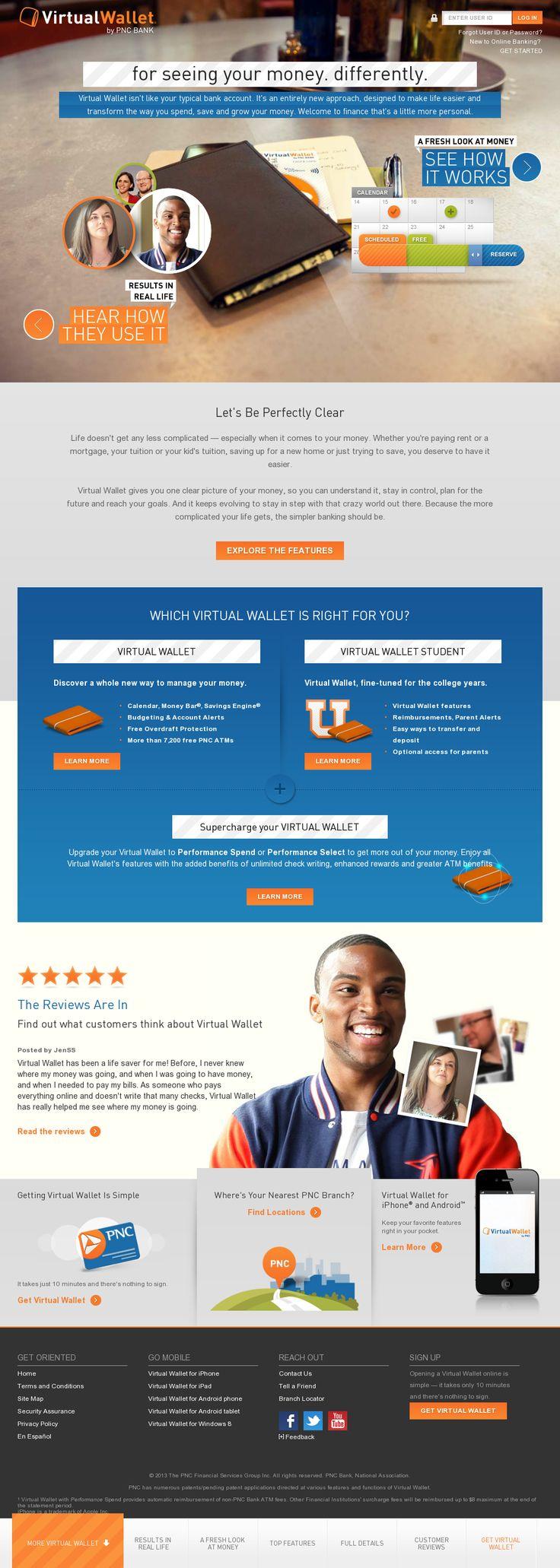 PNC Virtual Wallet (With images) Pnc virtual wallet, Web