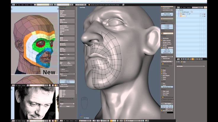 Creating a Realistic Head in Blender - part 01  Blender Cookie 44:36