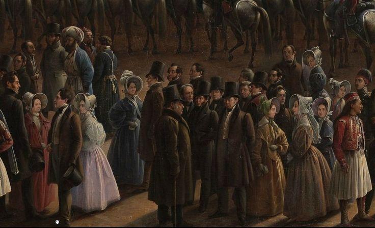 Г Чернецов Парад по случаю окончания военных действий в Царстве Польском 6 октября 1831 года на