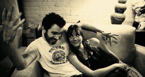 Chris Messina and Rashida Jones.