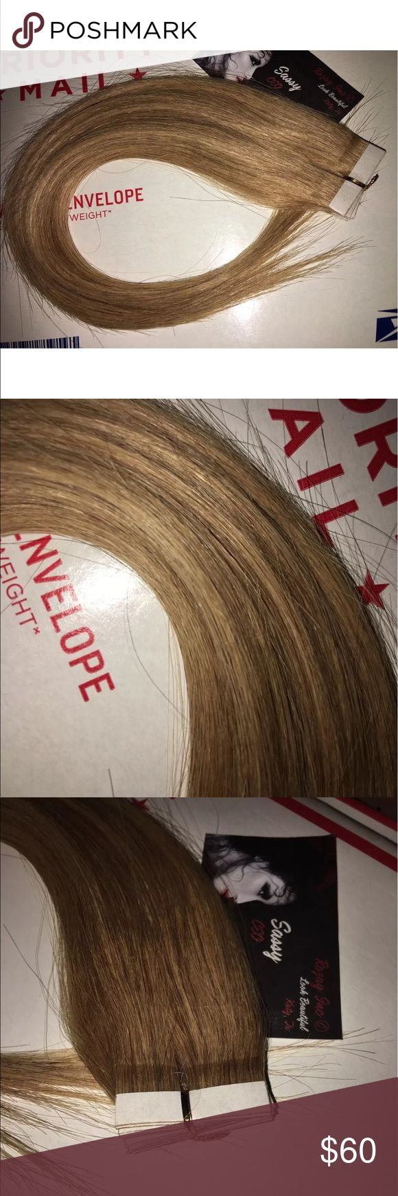 100%Authentic Rozay Remy Human Hair Tape Extension Hello you will receive same item as seen in photos 100% Authentic Rozay Remy Human Hair Tape Extension's (20) pieces color: 27  
