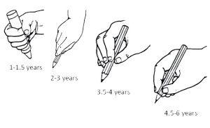 Los niños ya a los 12 meses pueden ser capaces de agarrar una pintura y hacer marcas en un papel, desde entonces y de manera progresiva van desarrollando un mejor control manual y un agarre más efi...