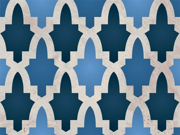 backsplash for laundry room: Large Wall, Moroccan Arches, Furniture Stencil, Moroccan Stencil, Moroccan Pattern, Arches Furniture, Royals Design, Design Studios, Wall Stencil Patterns