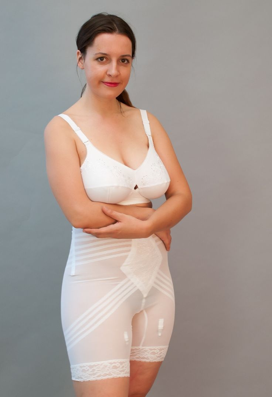 Hot girl in girdle — pic 3