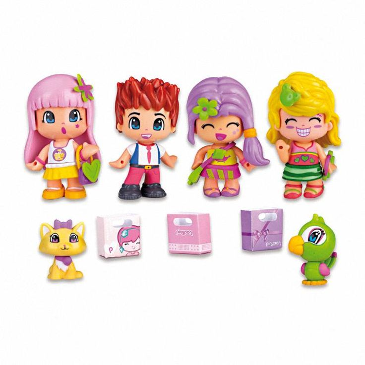 Pinypon City Pack 4 Figures