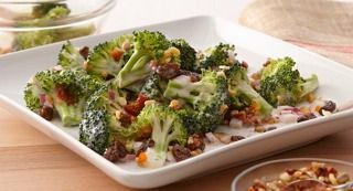 Creamy Broccoli Salad: This salad is a family favorite -- perfect for picnics, potlucks, backyard barbecues and even holiday meals.