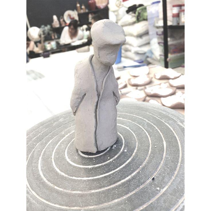 Dervis - Ceramic Clay - Ayse Ozturkmen