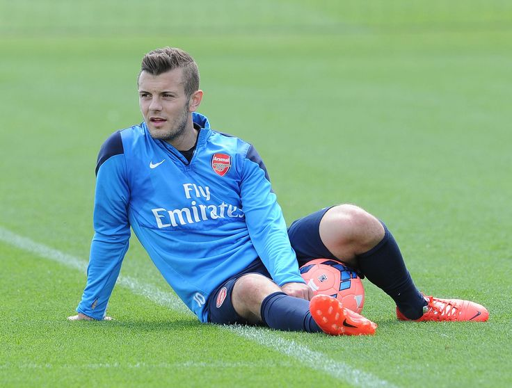 https://flic.kr/p/nBouvh   Jack Wilshere   ST ALBANS, ENGLAND - MAY 14:  Jack Wilshere of Arsenal during the Arsenal 1st Team Training Session at London Colney on May 14, 2014 in St Albans, England.  (Photo by David Price/Arsenal FC via Getty Images) *** Local Caption *** Jack Wilshere