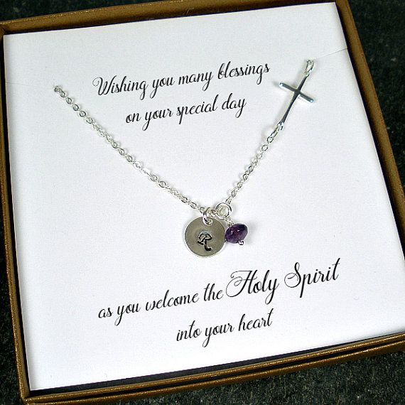 Confirmation Gift First Communion Gift by StarringYouJewelry
