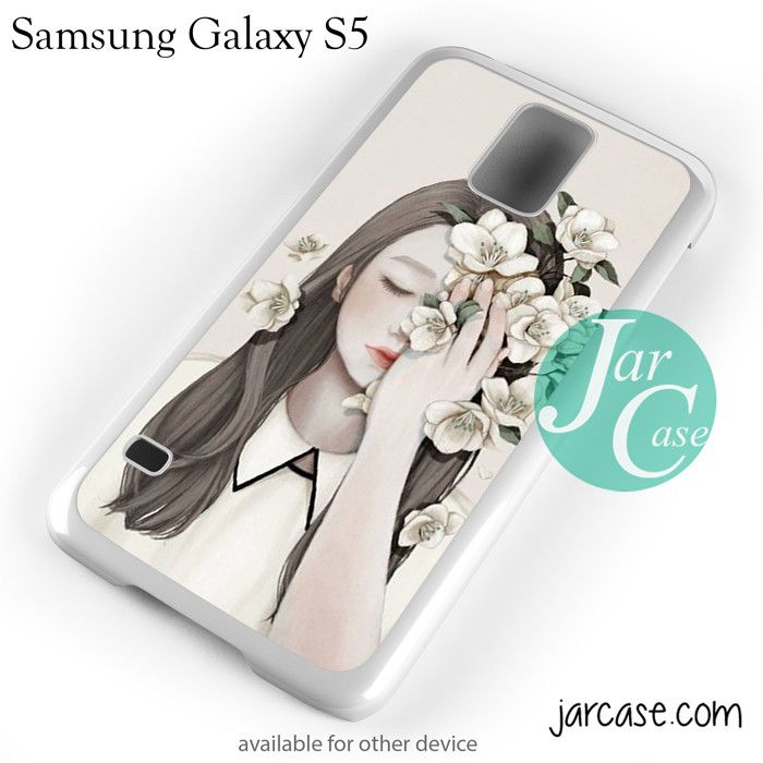 Flower girl YP Phone case for samsung galaxy S3/S4/S5