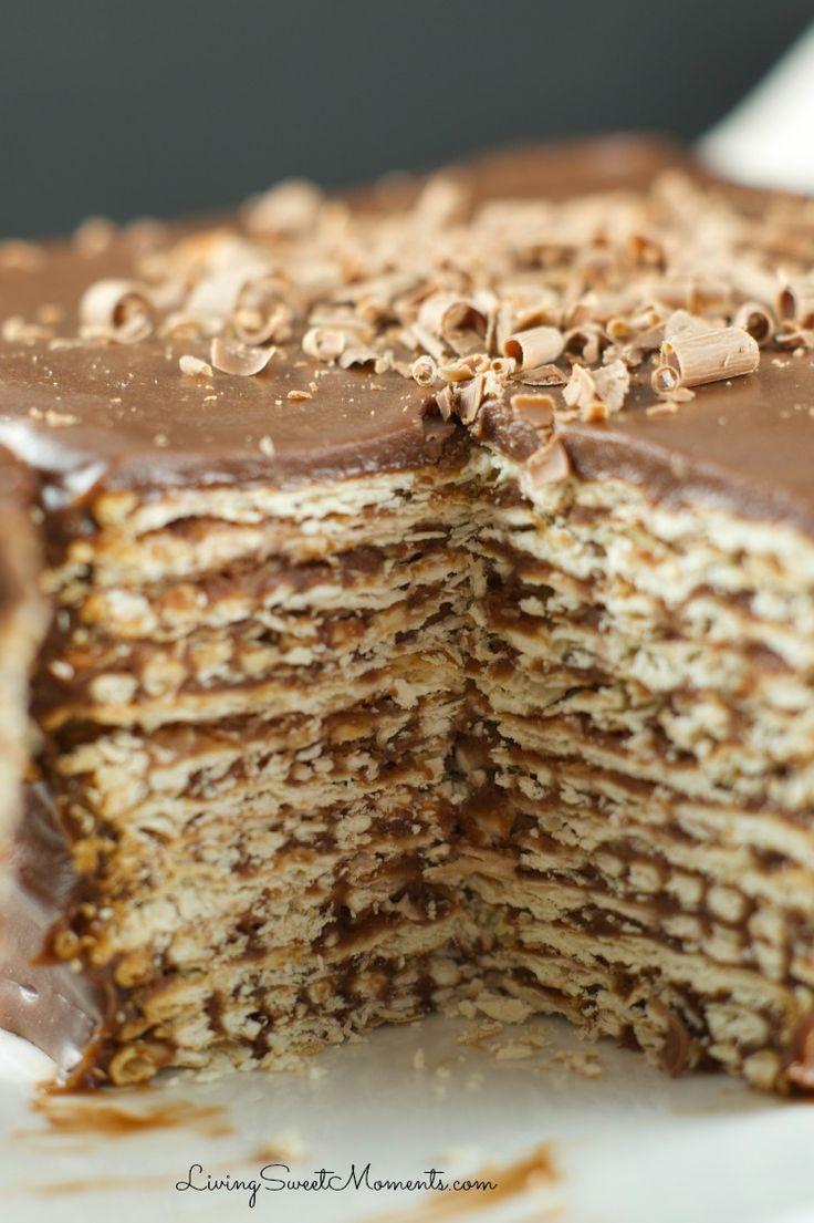 Icebox Matzo Kuchen Rezept – Einfache No Bake Dessert während Pessach Seder zu dienen. …   – vallecitafriaz@hotmail.com