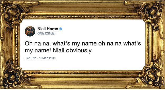 19 Old One Direction Tweets That Deserve To Be Framed