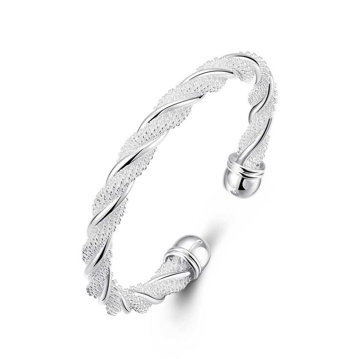 Twisted Wire Mesh Bracelet