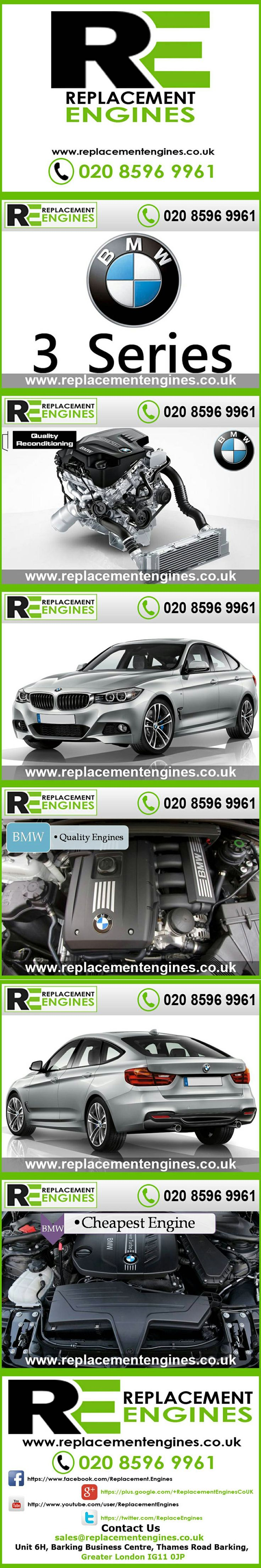 Bmw 3 series engines for sale at the cheapest prices we have low mileage used