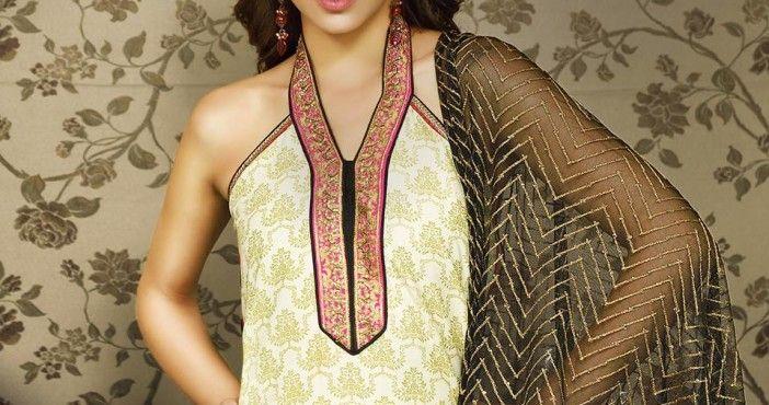 Luxurious Eid Winter Suit Designs for Women 2015 by Asim Jofa