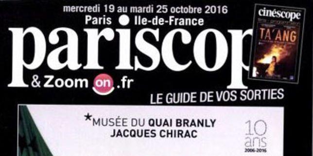 Objet perdu : le «Pariscope»