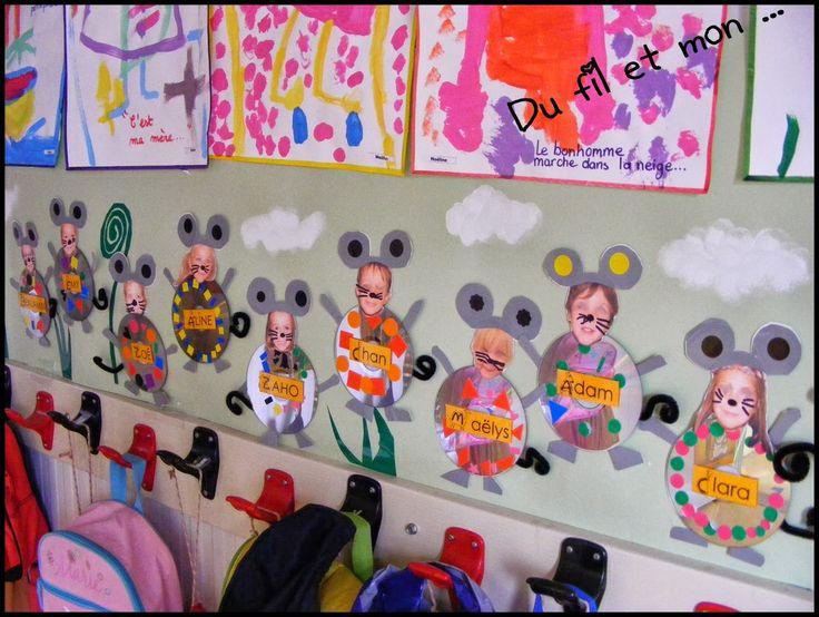 51 best porte manteau images on pinterest infant crafts - Decoration porte manteau ecole ...