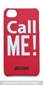 Undisputed Moschino Call Me! iPhone Case Sale Buy