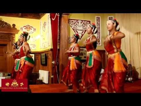 Lovely Indian classical dance at a beautiful heritage hotel
