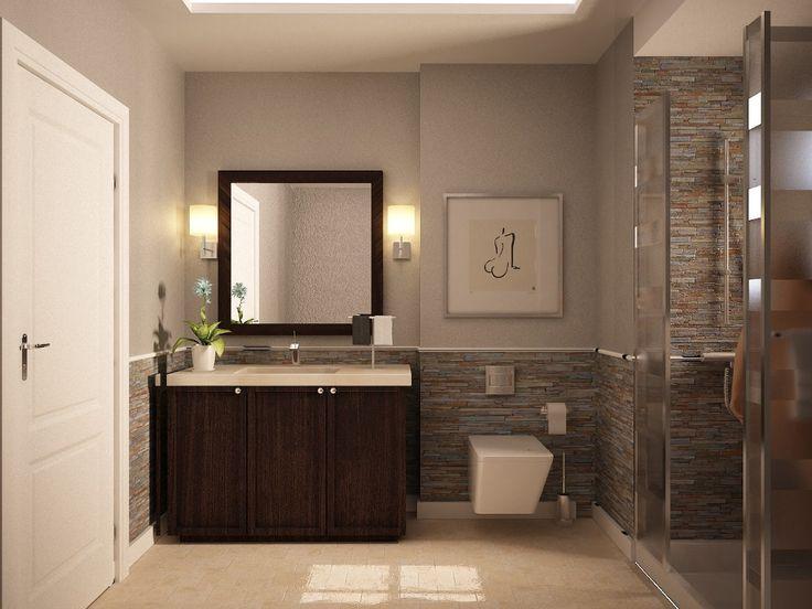 Modern Half Bathroom Design 15 best images about bathroom on pinterest | luxurious bathrooms