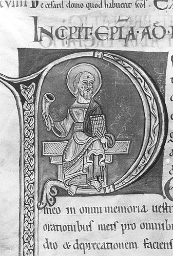 Paul -- Douai Bibliotheque Municipale 1, f. 223v (1125-1135)