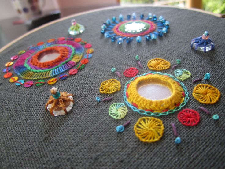 Indian #shisha mirrorwork embroidery in #Streatham