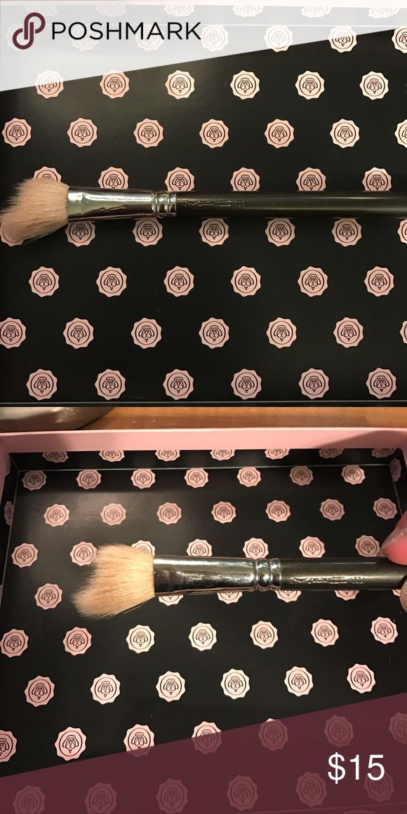 Mac 168 blush brush/ contour Mac blush brush number 168. Great for powder blush and contour/bronzer. In good condition. Have multiples of this brush and do not need this one anymore. MAC Cosmetics Makeup Brushes & Tools
