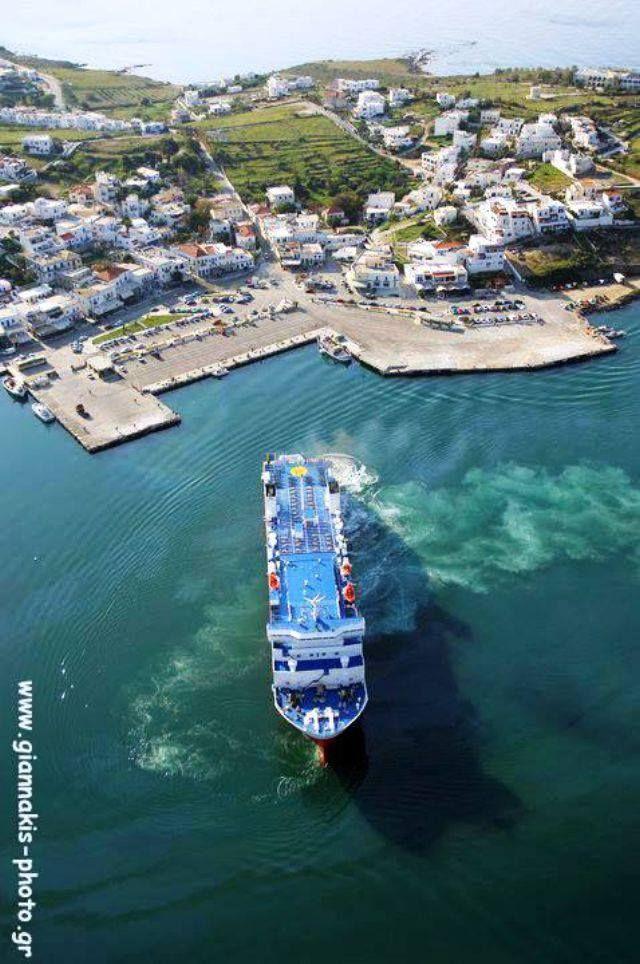 Gavrio, Andros, Greece