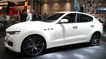 Due to go on sale this spring, the Levante is Maserati's first SUV and it will give the company a rival for cars such as the Porsche Cayenne and Jaguar F-Pace. It clearly has a sporty look that reflects the company's other models – the nose is dominated by the large grille and, along the sides, the company's trademark air vents are clearly visible. As yet, technical details are pretty thin on the ground, but Maserati has confirmed that the Levante will come with petrol and diesel engines…