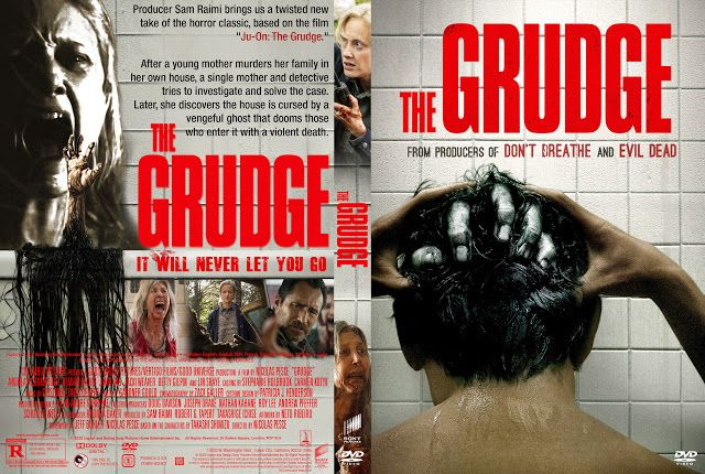 The Grudge 2020 Dvd Cover In 2020 The Grudge Dvd Covers Dvd