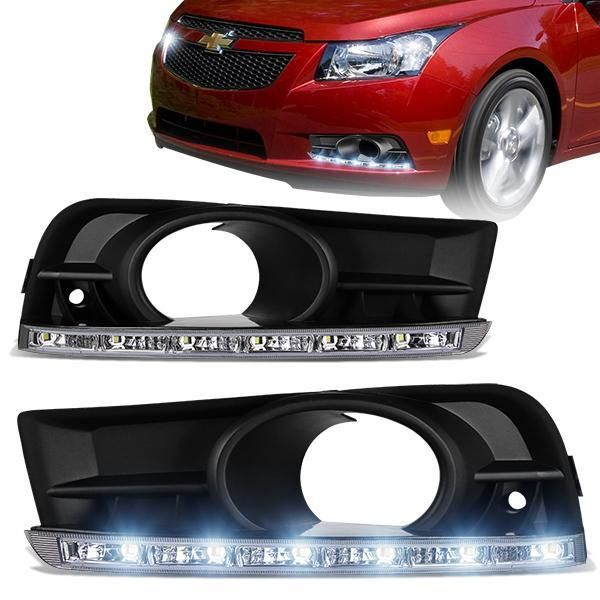 Bumper Fog Light Clear Lens Projector Lamp Wiring Kit For 2017-18 Chevy  Cruze Car & Truck Lighting & Lamps Car & Truck Fog & Driving Lights | 2012 Chevy Cruze Fog L Wiring Harness |  | Vibrant Energy