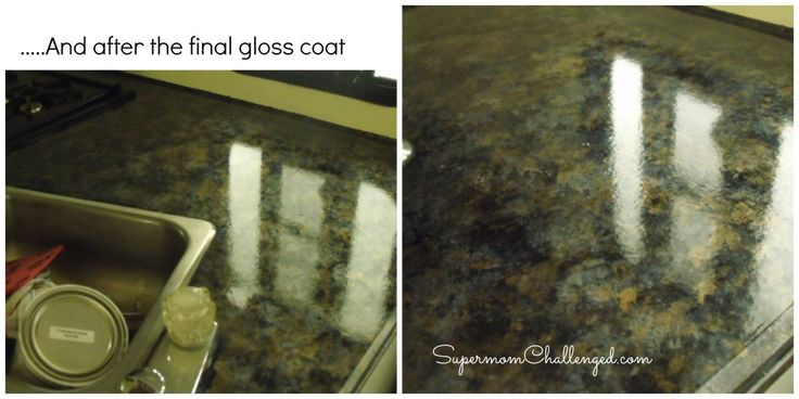 Countertop Paint Problems : Giani Granite Countertop Paint Review Kitchen Pinterest