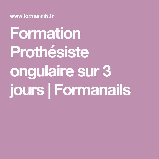 Formation Prothésiste ongulaire sur 3 jours   Formanails