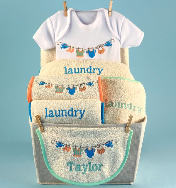 154 best baby gift baskets for girls images on pinterest baby personalized baby gift basket negle Gallery