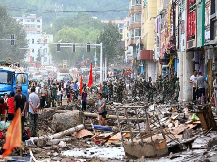 Chuva afeta mais de um milhão de pessoas em cidades de Heilongjiang e Jilin China